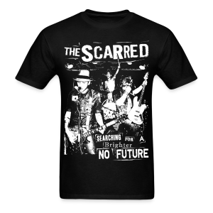 The Scarred - Searching for a Brighter no Future - Men's T-Shirt