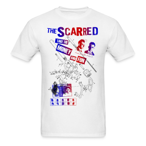 The Scarred - take the money and fun T-shirt - Men's T-Shirt