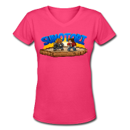 T-Shirts ~ Women's V-Neck T-Shirt ~ Sumotori T-Shirt (F)