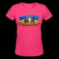 Women's T-Shirts ~ Women's V-Neck T-Shirt ~ Sumotori T-Shirt (F)