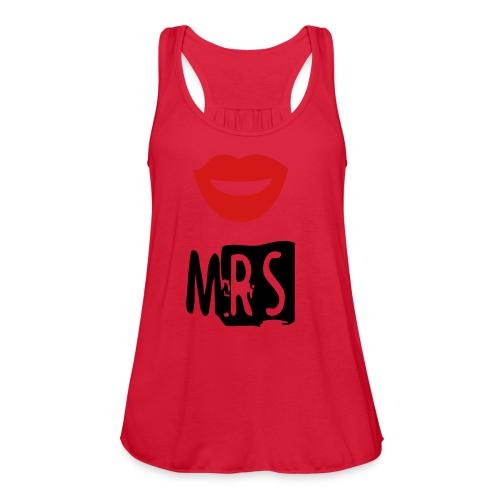The Mrs. - Women's Flowy Tank Top by Bella