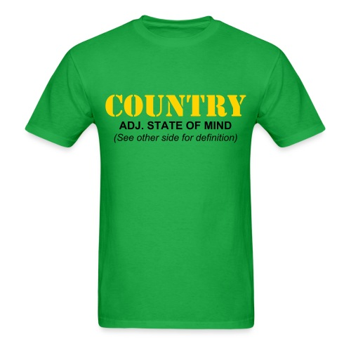 John Deere Green Inspired Country Men's T-Shirt - Men's T-Shirt