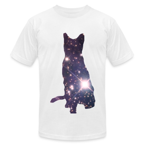 Space Cat Tee - Men's Fine Jersey T-Shirt