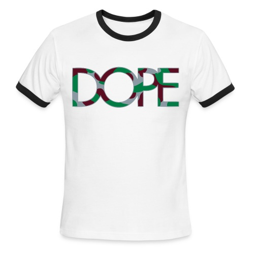 The Dope Point Of View Tee - Men's Ringer T-Shirt
