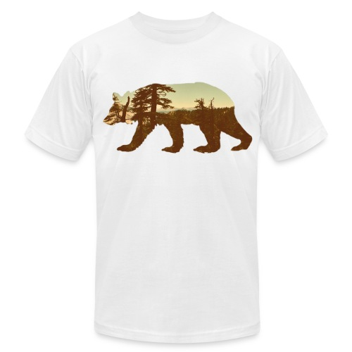 Cali Point Of Veiw Tee - Men's Fine Jersey T-Shirt