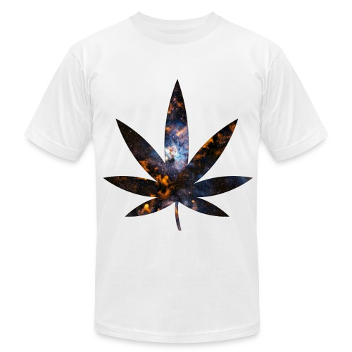 Intertgalatic Weed Tee - Men's Fine Jersey T-Shirt