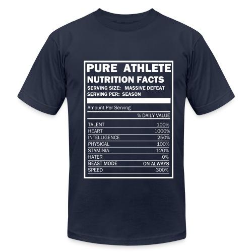 Pure Athlete - Men's Fine Jersey T-Shirt