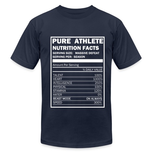 Pure Athlete - Men's  Jersey T-Shirt