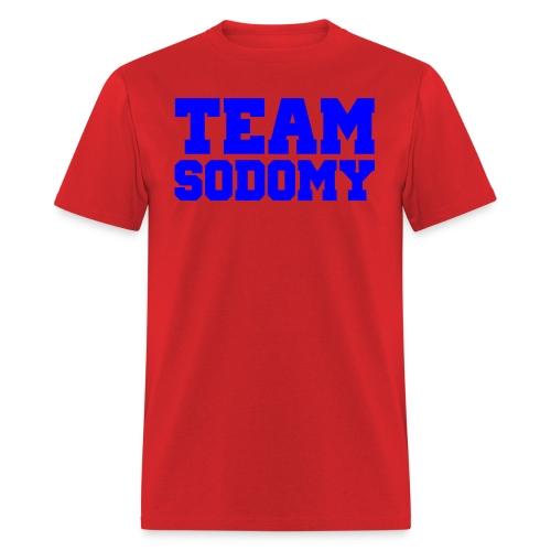 team sodomy - Men's T-Shirt