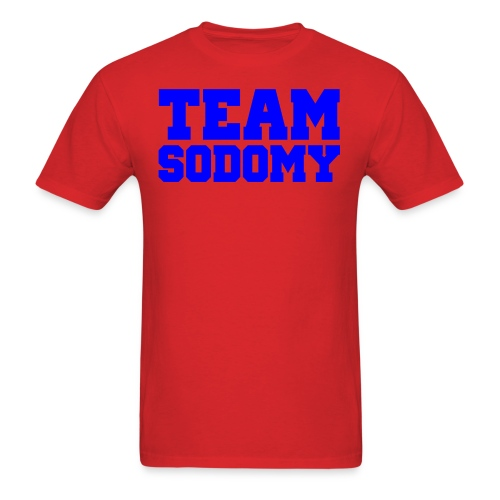 team sodomy - Men's T-Shirt