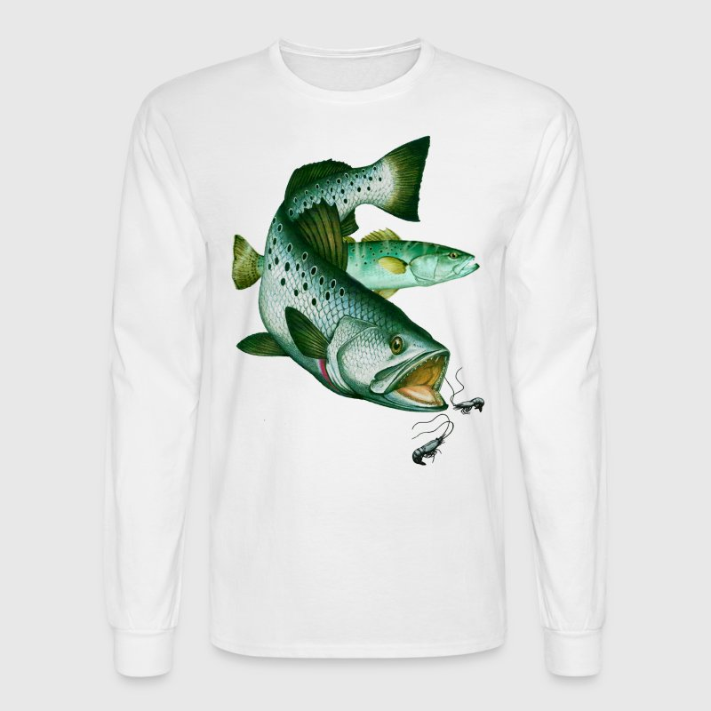Speckled Trout  - Men's Long Sleeve T-Shirt