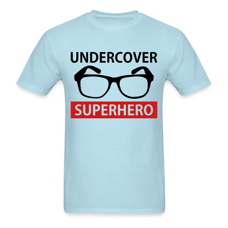 Undercover Superhero - Men's T-Shirt