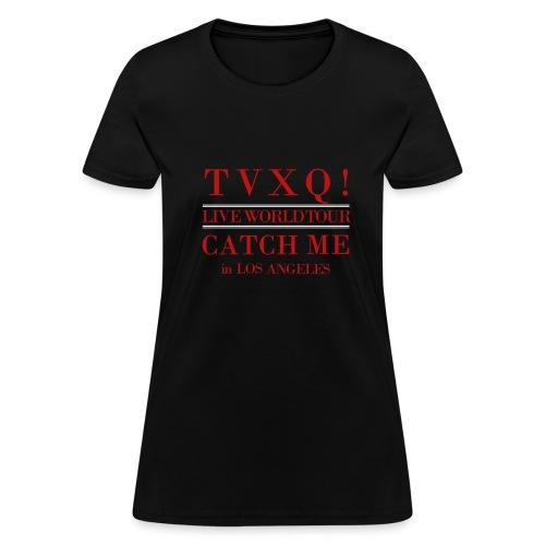 TVXQ! CATCH ME TOUR in LA - WOMEN'S STANDARD TSHIRT - Women's T-Shirt