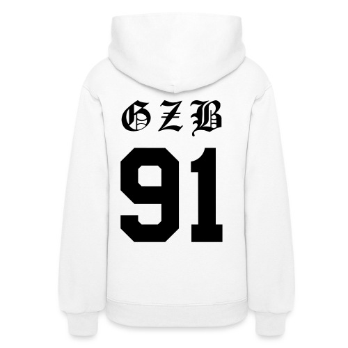 GZB CL Face (Black) -Double Sided - Women's Hoodie