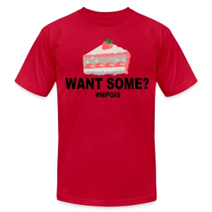 Want Some? - Men's T-Shirt by American Apparel