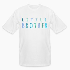Little Brother in blue T-Shirts