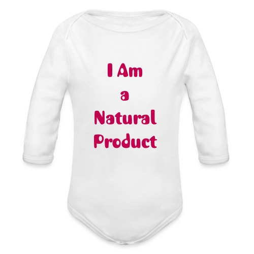 I Am...Baby by Natural's Passion - Organic Long Sleeve Baby Bodysuit