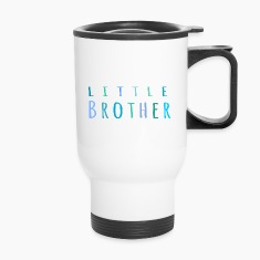 Little Brother in blue Bottles & Mugs