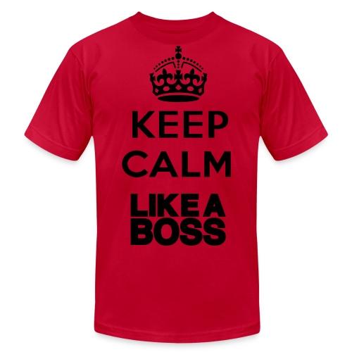 Keep Calm, Like a Boss - Men's Fine Jersey T-Shirt