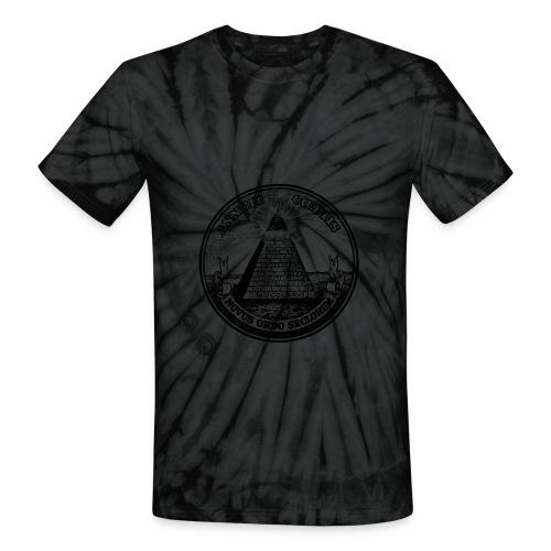 Tye Dye Pyramid Shirt - Unisex Tie Dye T-Shirt