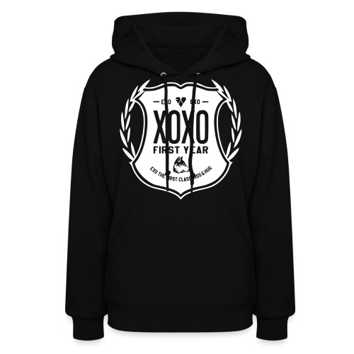 XOXO First Year-Single Sided - Women's Hoodie