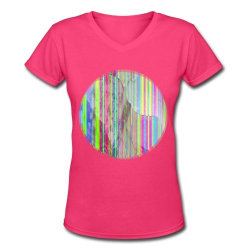 some serenity - Women's V-Neck T-Shirt