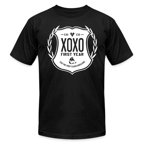 XOXO First Year-Single Sided - Men's T-Shirt by American Apparel