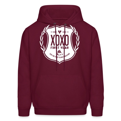 XOXO First Year-Single Sided - Men's Hoodie