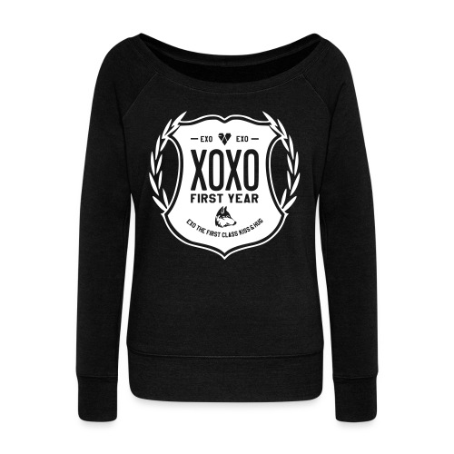 XOXO First Year-Single Sided - Women's Wideneck Sweatshirt