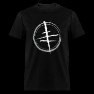 T-Shirts ~ Men's T-Shirt ~ Simple Stylized Cross Tee (Maxian CXS Cross)