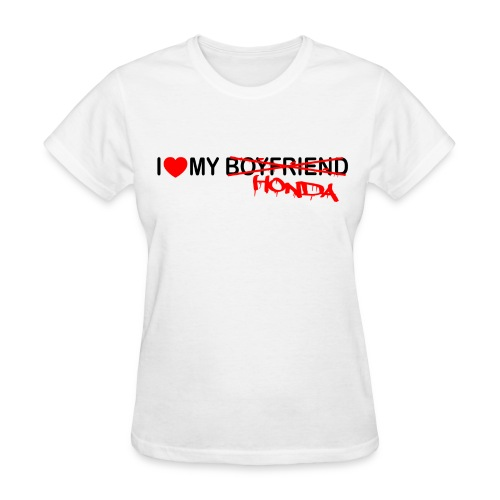 I heart my BF - Women's T-Shirt