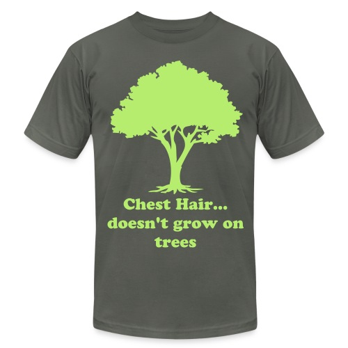 Manly Tree of Wisdom - Men's Fine Jersey T-Shirt