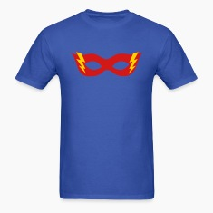 Comic, Cartoon, Hero mask, Flash, Super Hero, Fun T-Shirts