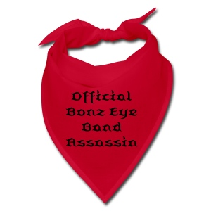 Official Bonz Eye Band Assassin Bandana - Bandana