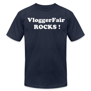 VloggerFair Rocks - Men's Fine Jersey T-Shirt