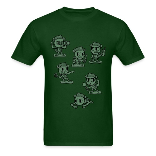 HTF - Flippy Armymen - Men's T-Shirt