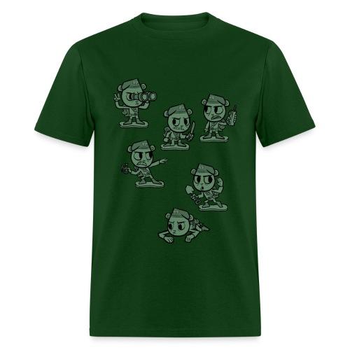 HTF - Flippy Armymen - Men's T-Shirt