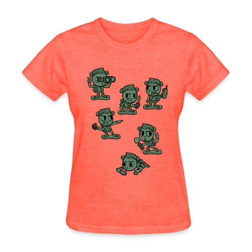 HTF - Flippy Armymen - Women's T-Shirt