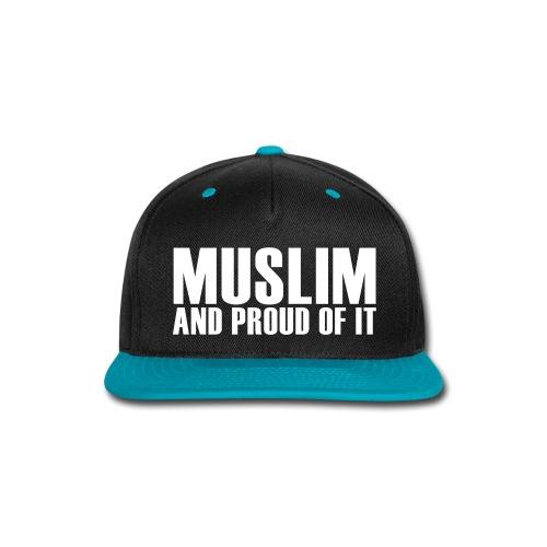 Proud Muslim Cap - Snap-back Baseball Cap