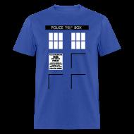 T-Shirts ~ Men's T-Shirt ~ Men's Bigger on the Inside