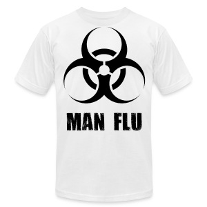 Man Flu - Men's T-Shirt by American Apparel