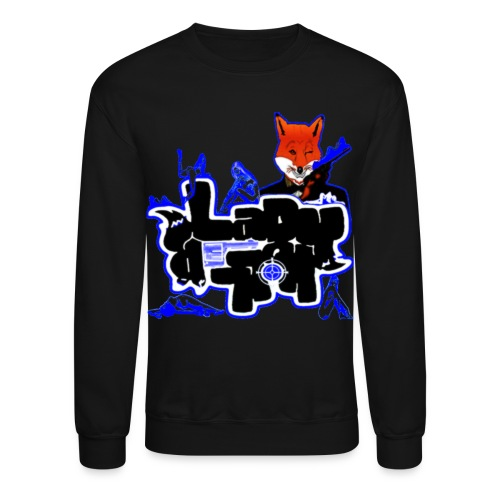 LadyK.LLeR Braille Signature Crew Neck Royal Blue - Crewneck Sweatshirt