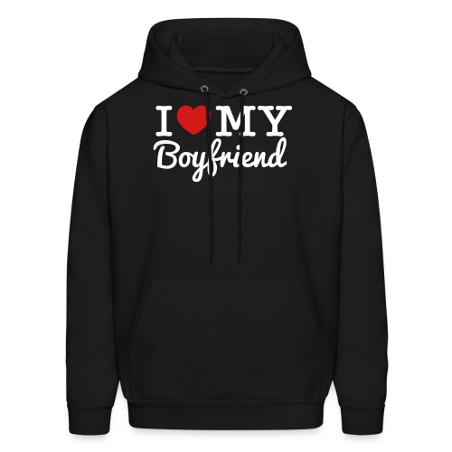 I Love My Boyfriend - Men's Hoodie