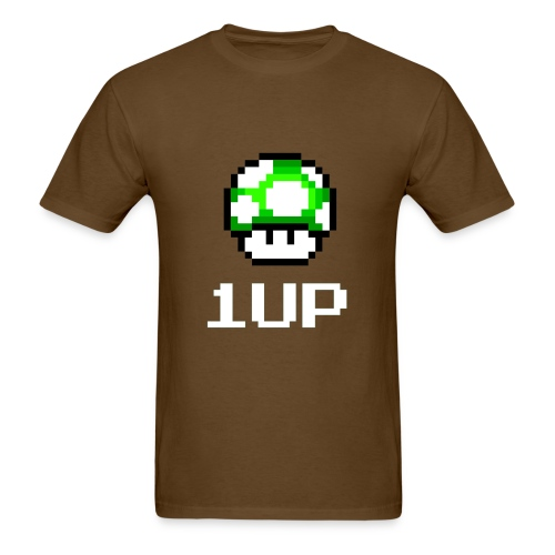 1 up (Mens) - Men's T-Shirt