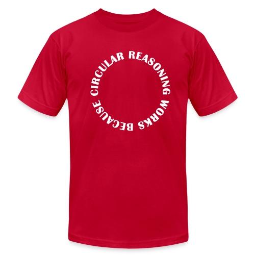 Circular Reasoning - Men's Fine Jersey T-Shirt
