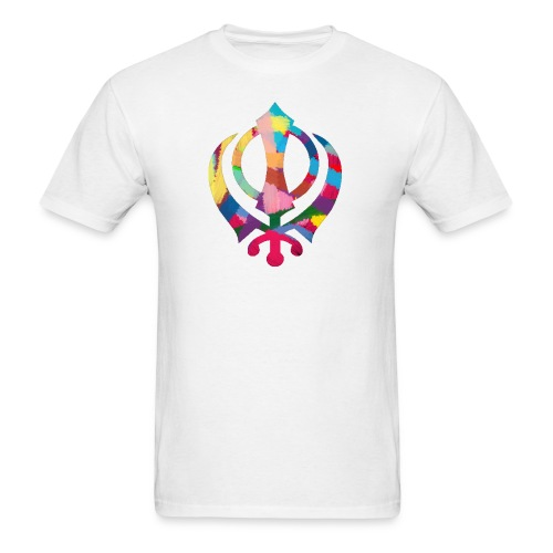 Colorful Khanda - Men's T-Shirt