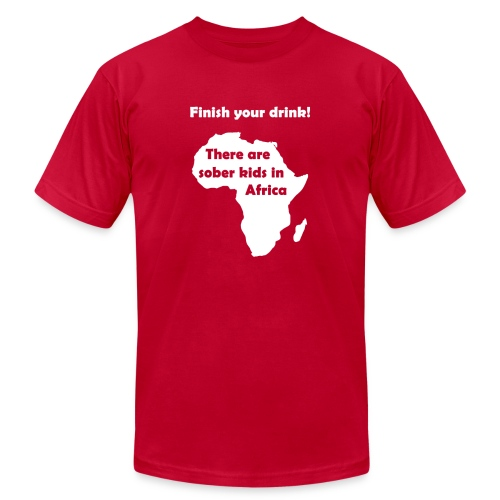 Finish your drink! - Men's  Jersey T-Shirt