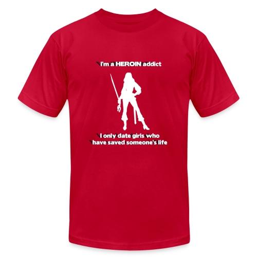 Heroin Addict - Men's Fine Jersey T-Shirt