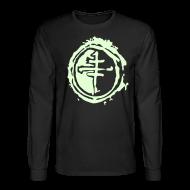Long Sleeve Shirts ~ Men's Long Sleeve T-Shirt ~ Long sleeve  Glow-in-the-Dark