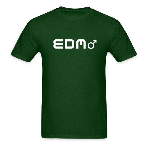 EDM - Male by Ravestyle. Men's Rave T-Shirt - Men's T-Shirt